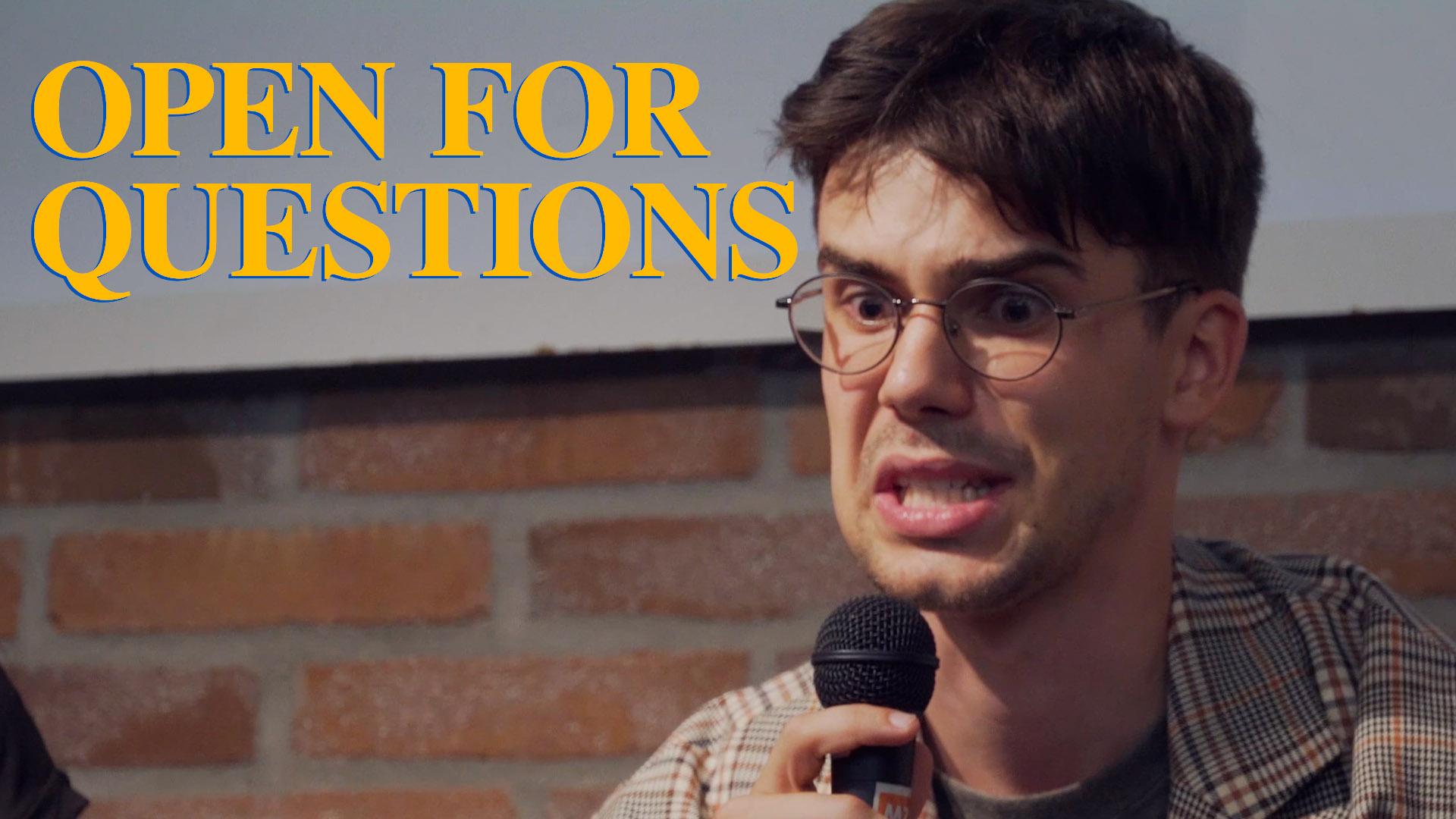 Open For Questions (Kurzfilm, 2019)